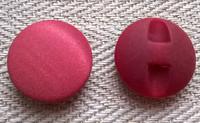 Punaruskea nappi, samettipinta, 17 mm