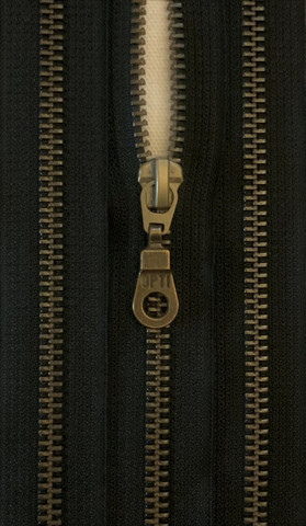 Avovetoketju, metalli, musta, 40 cm