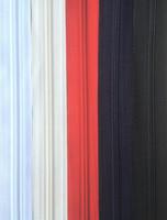 Takkivetoketju, spiraaliketju 80 cm, 5 väriä