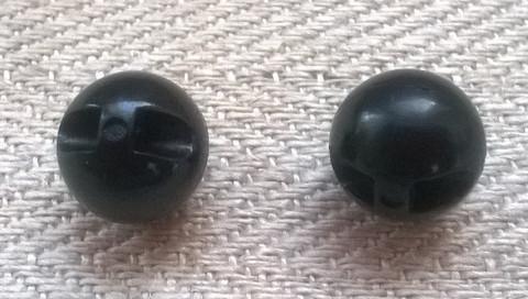Musta helminappi, 10 mm