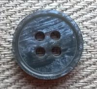 Harmaa perusnappi, 15 mm