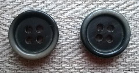 Harmaa perusnappi, 14 mm