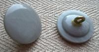 Harmaa kantanappi, 20 mm