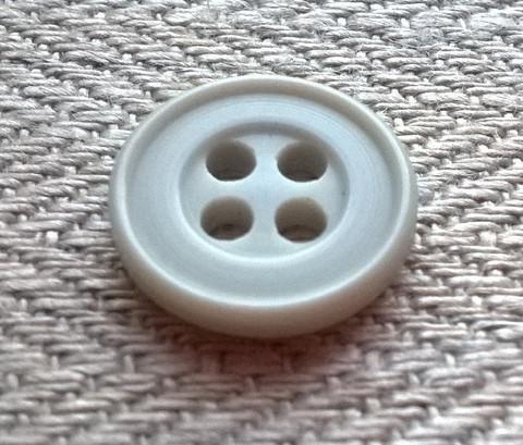 Harmaa perusnappi, 13 mm