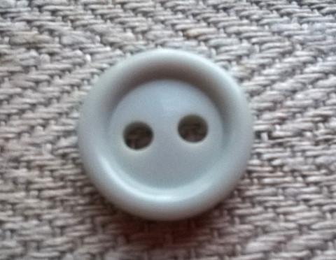 Harmaa perusnappi pieni, 12 mm