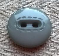 Harmaa puseronnappi, 15 mm