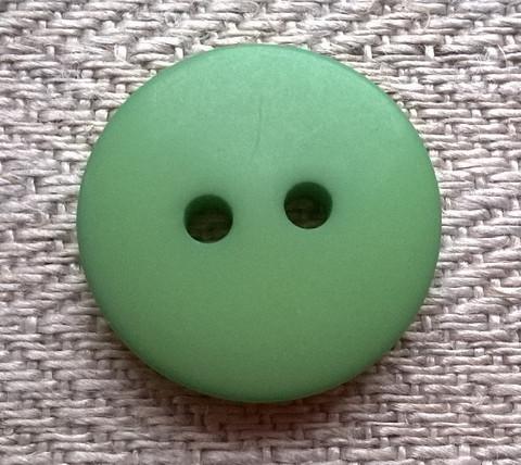 Vihreä nappi, 20 mm