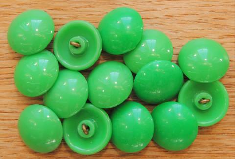 Vihreä kantanappi, 18 mm