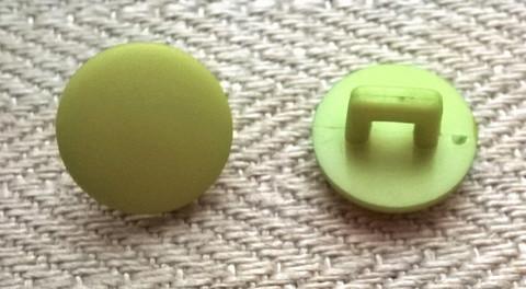 Vihreä kantanappi pieni, 12 mm