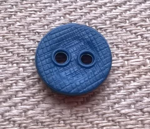 Kirkkaansininen perusnappi 11 mm