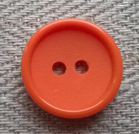 Oranssi perusnappi, 16 mm