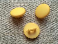 Keltainen kantanappi pieni, 11 mm