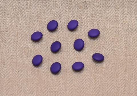 Lila kantanappi, 13 mm