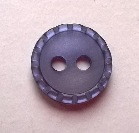 Lila perusnappi, 10 mm