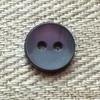 Tumma lila paidannappi, 11 mm