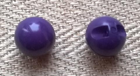 Violetti pallonappi, 7 mm ja 9 mm