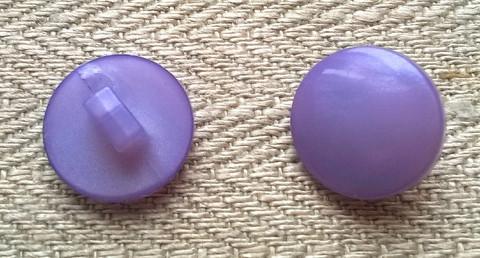 Lila kantanappi, 14 mm
