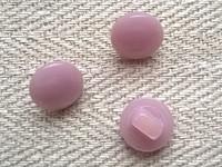 Vaaleanlila kantanappi pieni, 10 mm