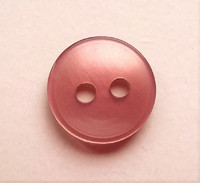 Roosa paidannappi, 11 mm