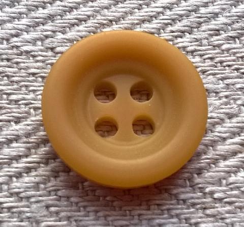 Sinapinkeltainen perusnappi, 20 mm