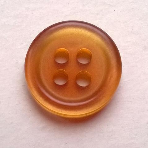 Kinuskinvärinen perusnappi, 12 mm