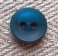 Sininen paidannappi, 12 mm