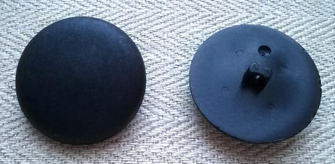 Tummansininen takinnappi, 26 mm