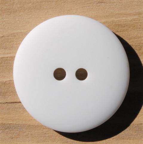 Valkoinen nappi, 22 mm