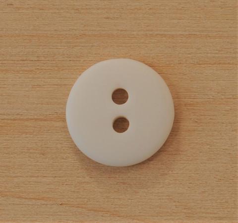 Valkoinen nappi, 11 mm