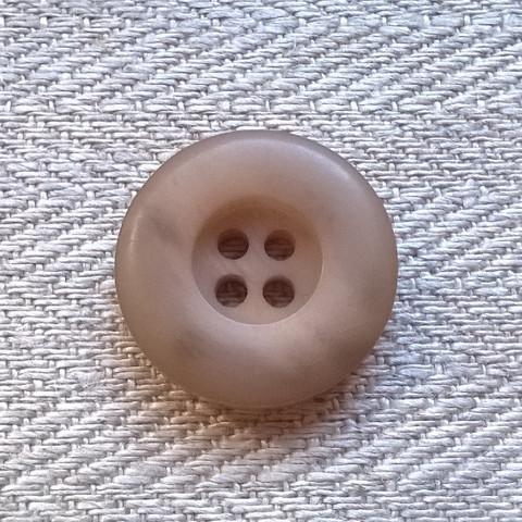 Beige takinnappi, 20 mm