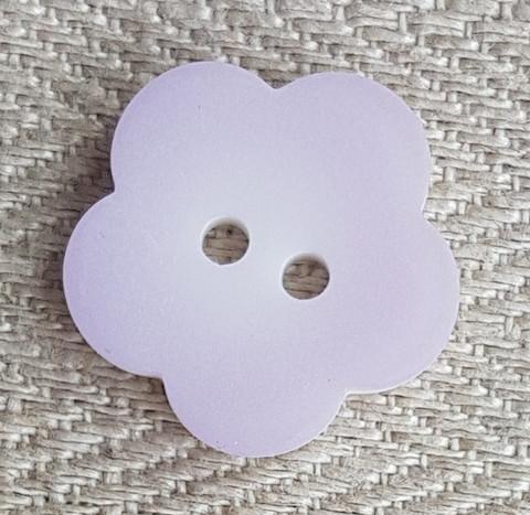 Vaaleanpunainen kukkanappi, 20 mm