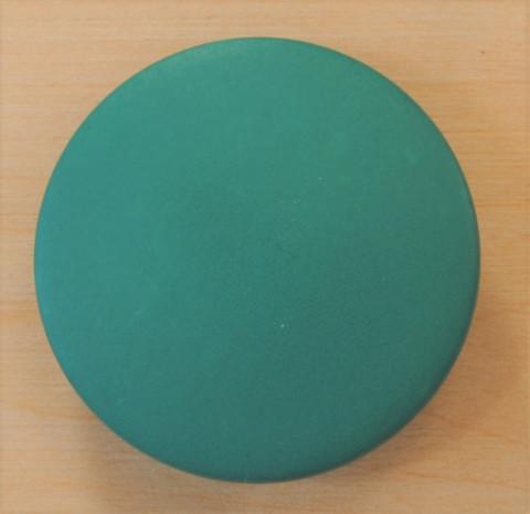 Vihreä iso kantanappi, 31 mm