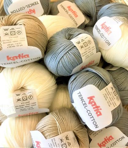 Katia Tencel Cotton, kolme väriä