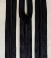 6 mm vetoketju, pituus 60 cm, väri musta
