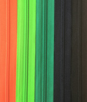 Takkivetoketju, spiraaliketju 75 cm, 8 väriä