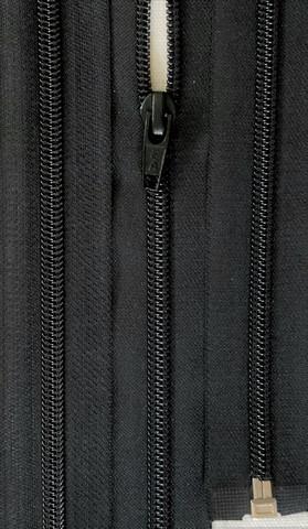 Avovetoketju, spiraaliketju 100 cm, musta