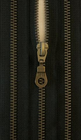 Avovetoketju, metalli, musta, 50 cm