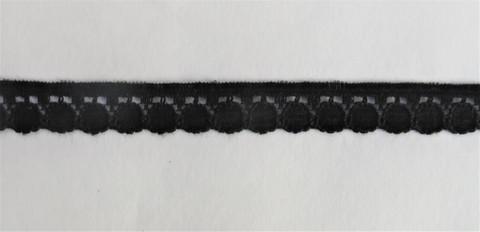 Musta pitsi, leveys 11 mm