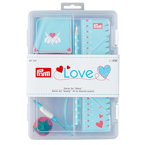 Prym Love -ompelutarvikepakkaus, turkoosi