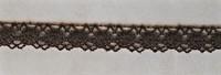 Ruskea puuvillapitsi, 13 mm