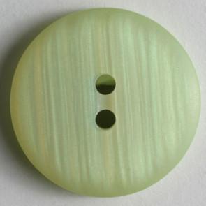 Vaaleanvihreä nappi, 15 mm