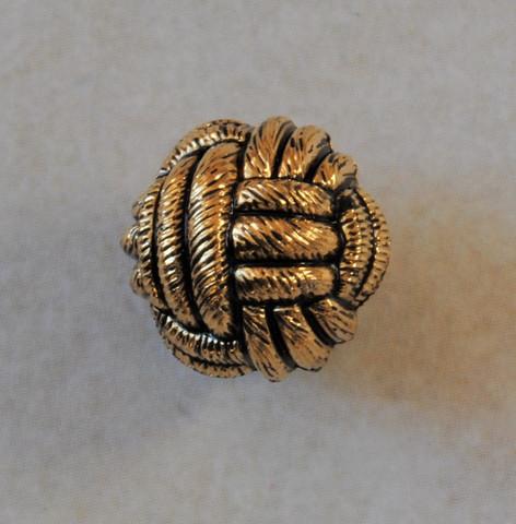 Pyöreä metallinappi, 10 mm