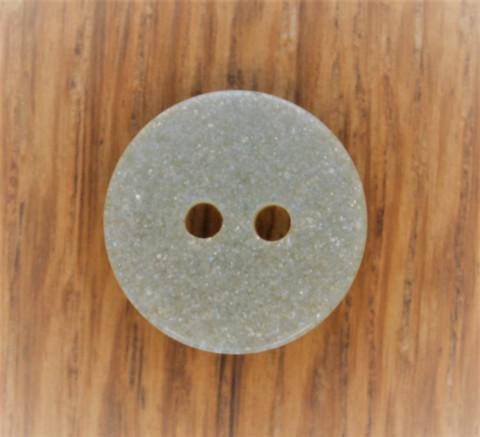 Vaaleanvihreä kimallenappi, 15mm