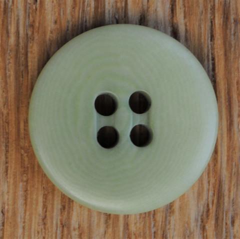 Vaaleanvihreä nappi, 20 mm