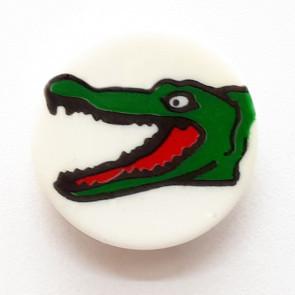 Krokotiili kantanappi, 14 mm