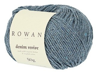 Rowan Denim Revive, kolme väriä