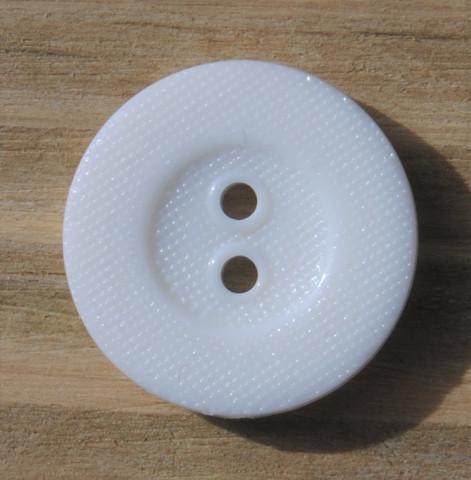 Valkoinen nappi, 14 mm