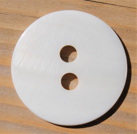 Valkoinen nappi, 34 mm