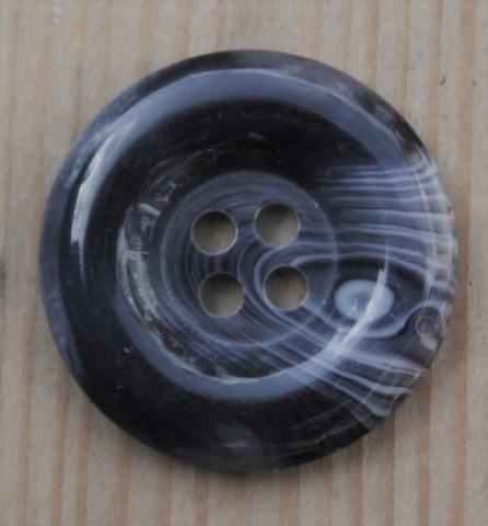 Harmaansinivioletti nappi, 23 mm