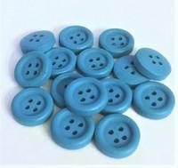 Sininen puunappi, 15 mm